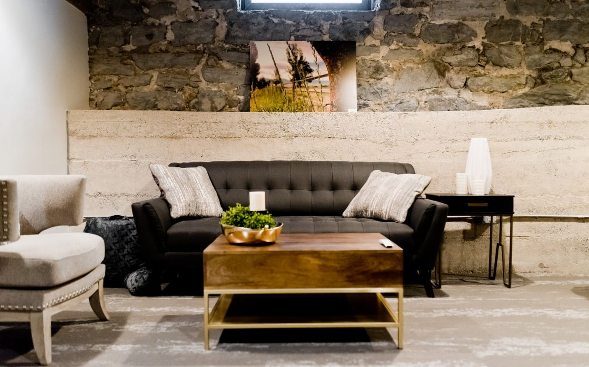 black furniture home decor