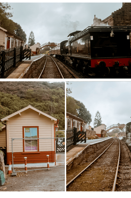 Harry Potter Goathland train Station