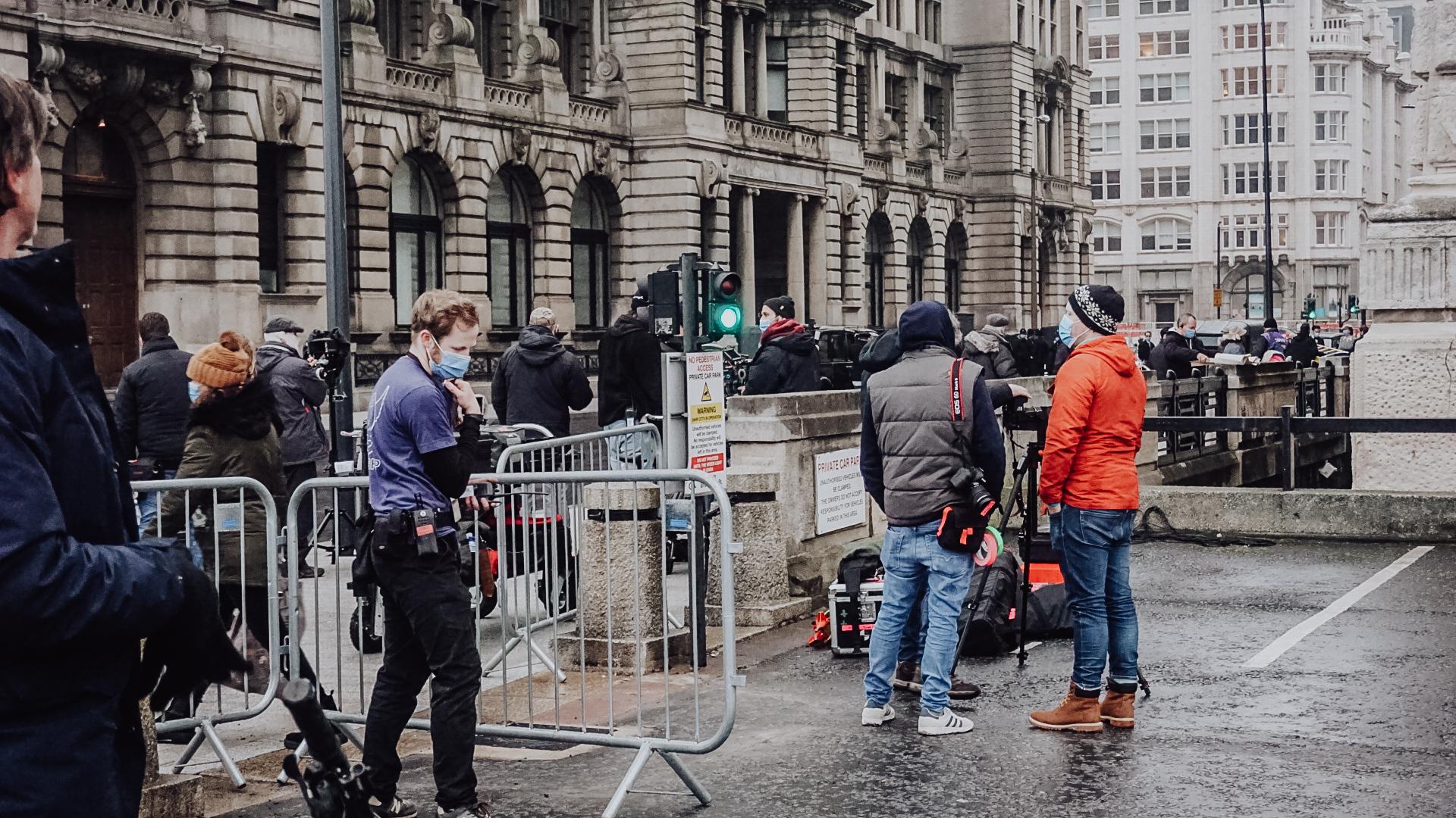 Netflix Munich On Set photos