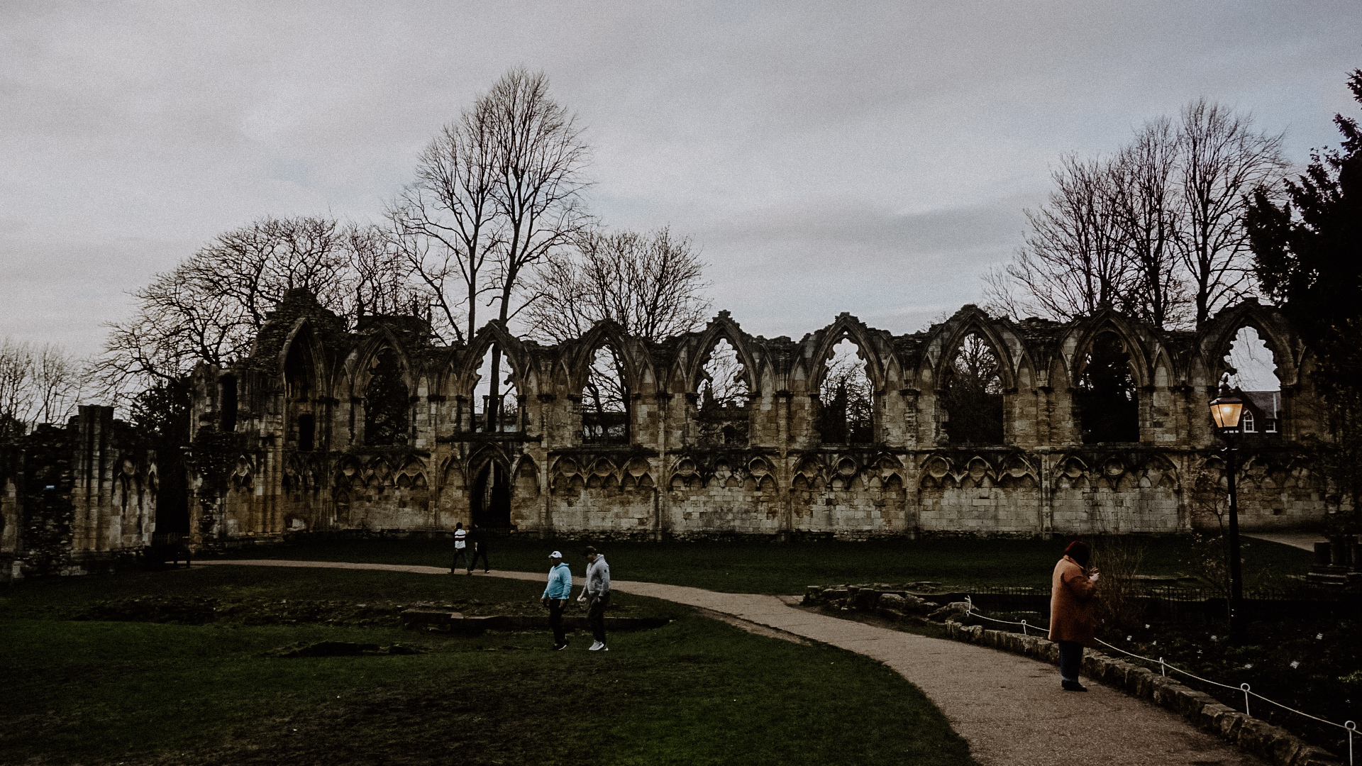 Exploring York St Mary's Abbey, York