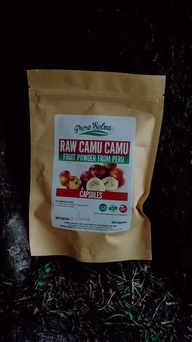 Raw Camu Camu Pure Selva Holistic Medicine