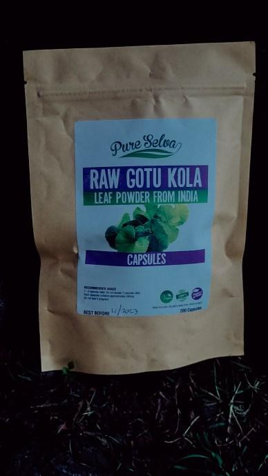 Raw Gotu Kola Pure Selva Holistic Medicine